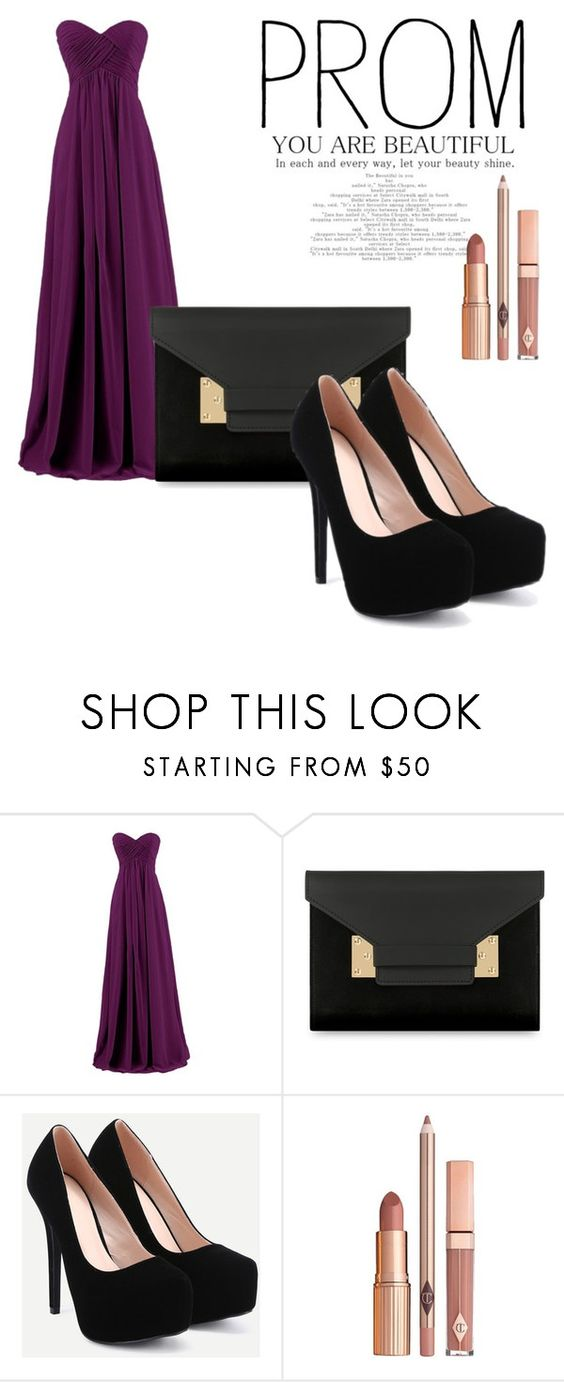 """""""prom"""" by sewarmohamed on Polyvore featuring Sophie Hulme and Dolce Vita"""