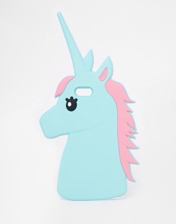 bild 1 von asos unicorn iphone 5 h lle aus gummi. Black Bedroom Furniture Sets. Home Design Ideas