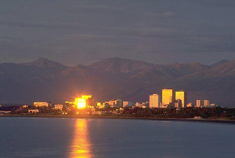 Anchorag Sunset