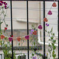 Une guirlande de fanions en crochet - Marie Claire Idées