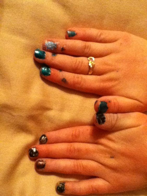 Geek nails DIY