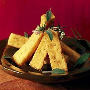 Fried Polenta Sticks with Sage