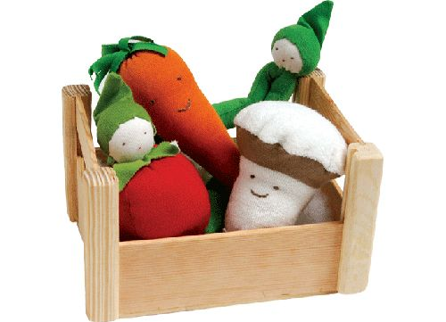 Babies need their fruits and veggies! #baby #toys
