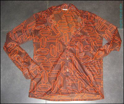 60's boho men's shirt!