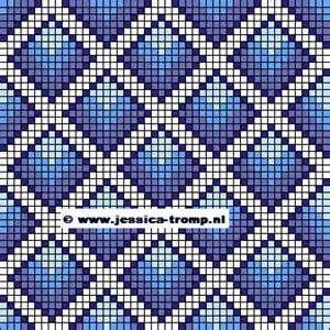 09 inbreipatronen Noorse patronen Fair Isle free color charts knitting