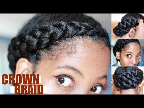 Fabulous Hair Care Protective Styles And Crown Braids On Pinterest Short Hairstyles For Black Women Fulllsitofus