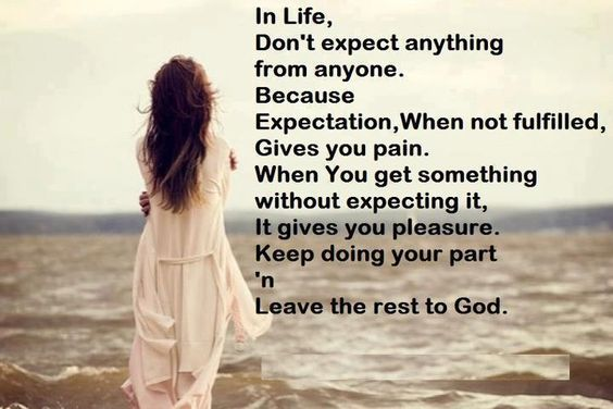 #life #expect #god #rest  For more quotes visit www.searchquotes.com