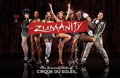 Zumanity the show !