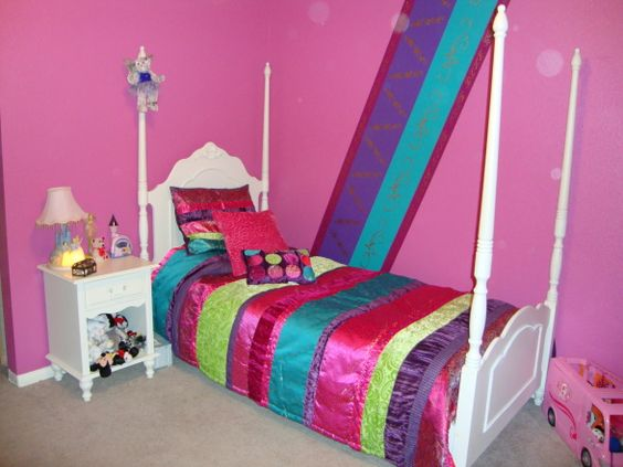 Turquoise Rooms Rich Colors For An 8 Year Old Girls 39 Room Designs Decorating Ideas
