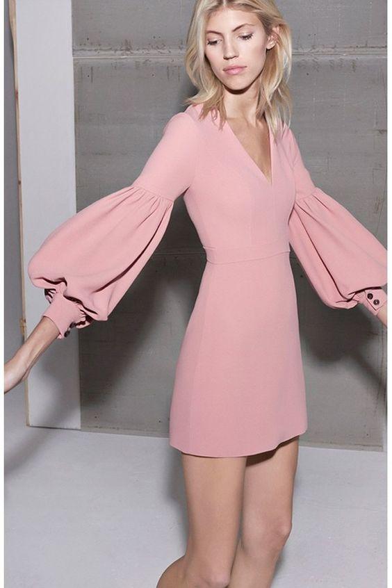 Ellena Dress Ash Pink   Alexis