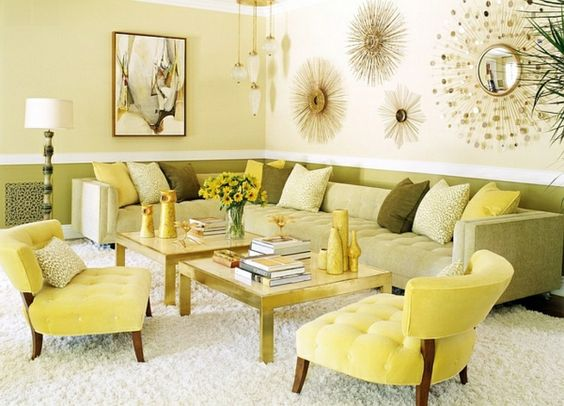 30 coole Wohnideen für Farbkombination –  Heiße Trendfarben 2014 -