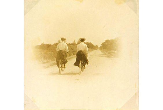 French Ladies Cycling, C. 1905 on OneKingsLane.com