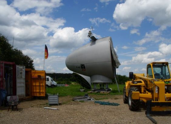 Windrad Montage, Nideggen