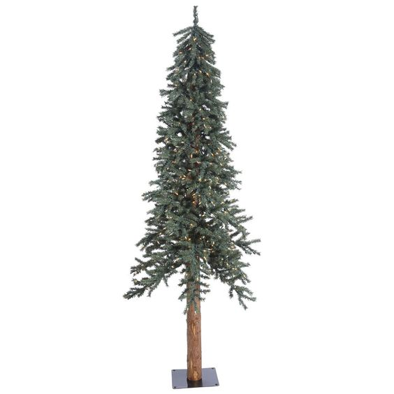 7Ft.x 445in. Natural Bark Alpine Tree 300CL