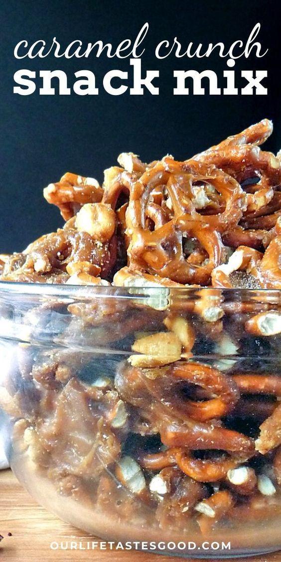 Caramel Crunch Snack Mix