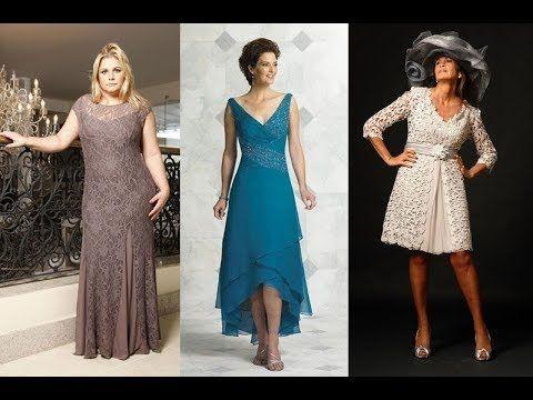Vestidos Elegantes Para Señoras De 50 A 60 Años Y Mas 2017