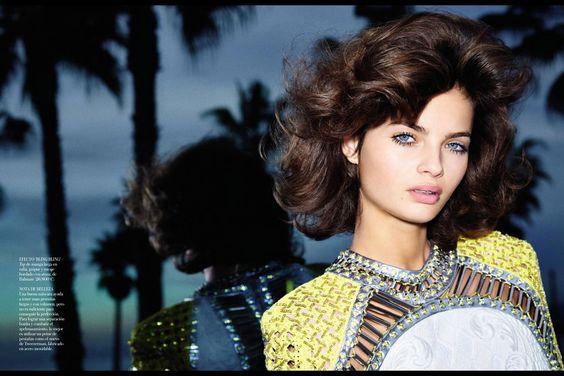 """Moa Aberg, Vogue España – """"Empieza El Juego"""" March 2013"""