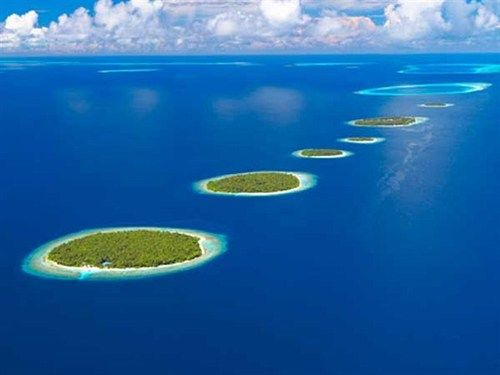 The Maldives- disappearing islands