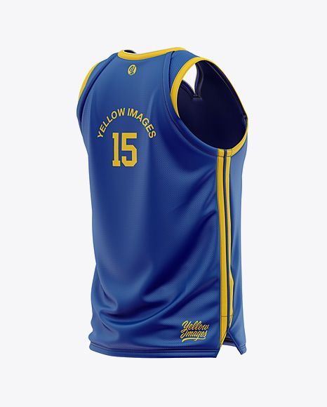 Download Men S Basketball Jersey Mockup Back Half Side View In Apparel Mockups On Yellow Images Object Mockups Clothing Mockup Mens Basketball Jerseys Shirt Mockup