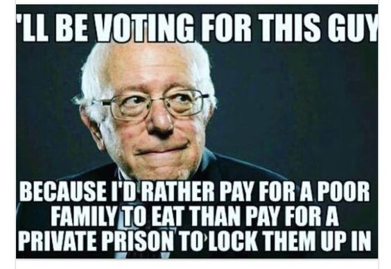 Why I'm voting for Bernie