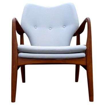 Check out this item at One Kings Lane! Mid-Century Modern Lounge Armchair