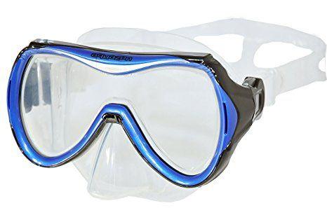 Aquazon Schnorchelbrille Taucherbrille Schwimmbrille Maui Blau Pink Fur Kinder Jugendliche Von 7 14 Jahren Medium B Schnorchel Schwimmen Taucherbrille