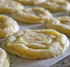 Lemon Crinkle Cookie - winner of best cookie!