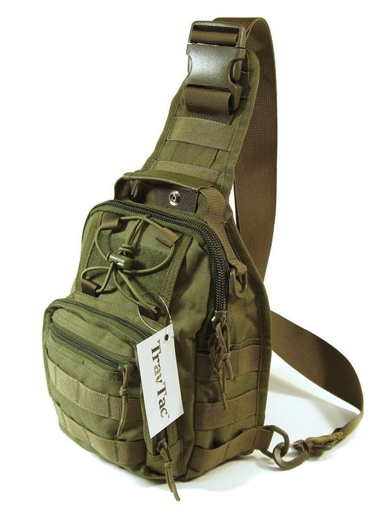 travtac stage i sling bag premium small edc tactical