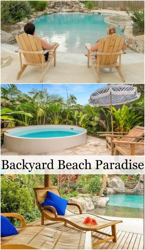 41++ Backyard beach ideas ideas