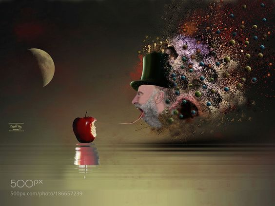 I have a abstract dream by RemsRdp. @go4fotos