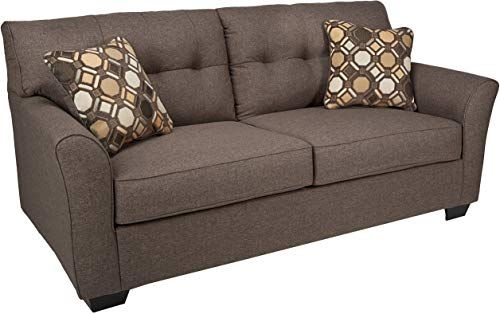 New Ashley Furniture Signature Design Tibbee Sofa Contemporary Style Couch Slate Online Contemporary Sofa Ashley Furniture Furniture