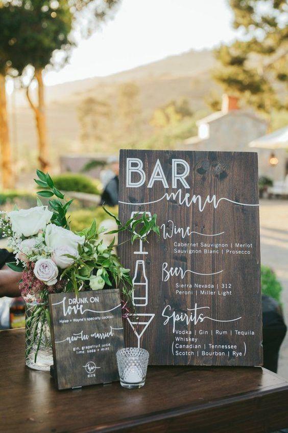 #weddingplanning #engaged #weddingbar