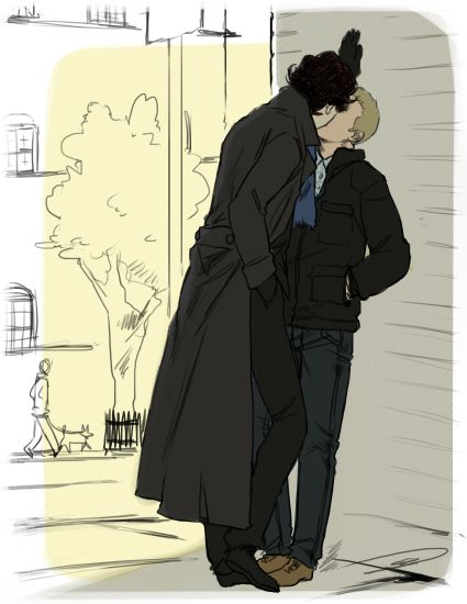 fluffy johnlock sherlock - photo #10
