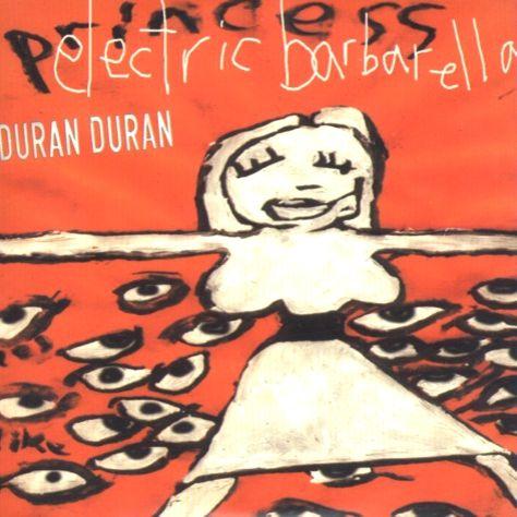 Duran Duran – Electric Barbarella (single cover art)