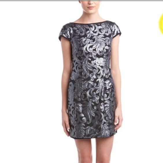 Nanette Lepore Sequin Dress NWT Nanette Lepore Society Sheath ...
