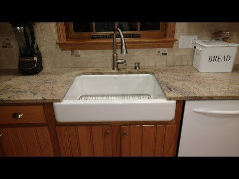 How To Install A Kohler Whitehaven Short Apron Sink Efaucets Com