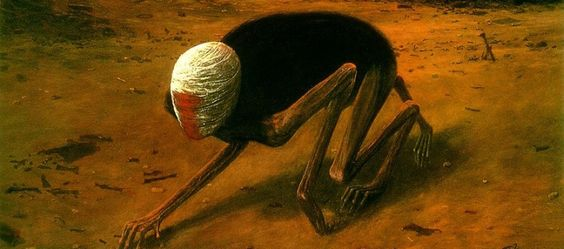 Zdzisław Beksiński | Surrealismo gótico