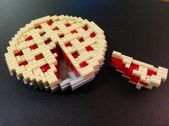 Cherry Pie for Pi Day 2015 with Slice