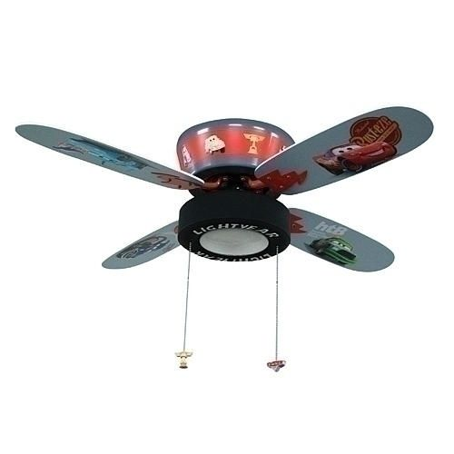 Disney Pixar S Cars The Movie Ceiling Fan With Goodyear