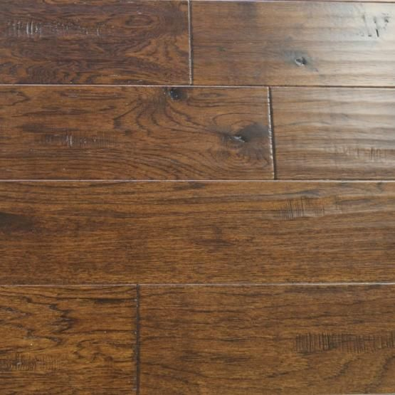 Hickory Kettle Cast Iron 1 2 X 6 1 2 Hardwood Engineered Hardwood Flooring Engineered Hardwood