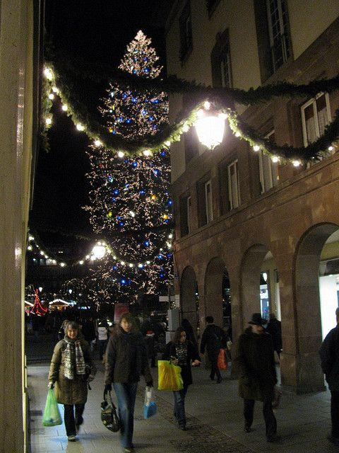 Christmas in Strasbourg. France.