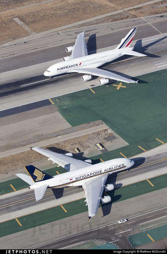 Airbus A380-841 9V-SKL 058 Los Angeles Int'l Airport - KLAX