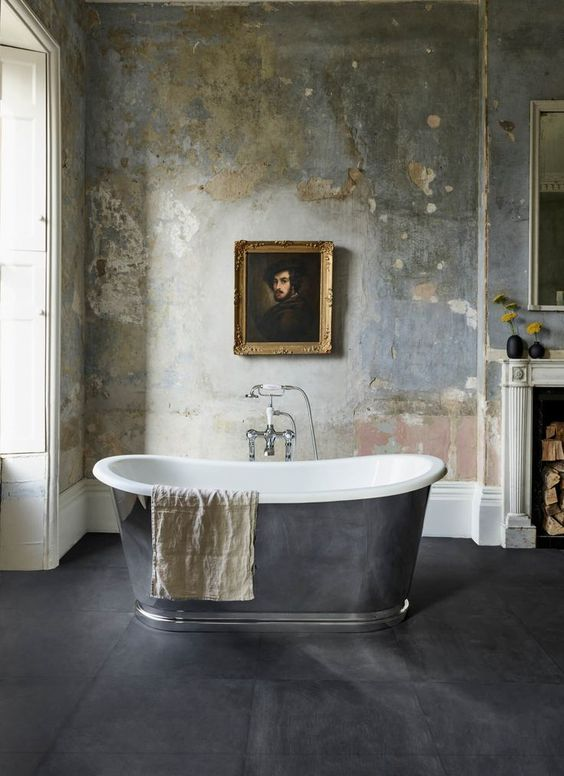 — Designing Timeless Bathrooms with Abey | est living | Decorating with a statement wall or ceiling