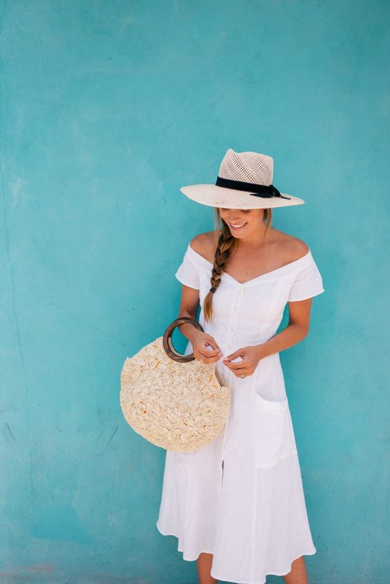 Summer is not complete without the perfect little white dress.
