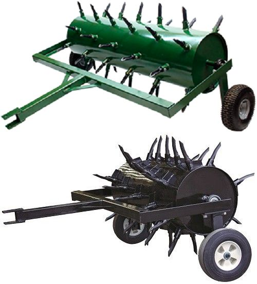 Maxim Msp48 48 Tow Behind Plug Aerator Aerator Aerate Lawn Towing