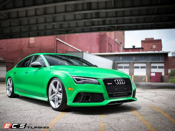 ecs tuning green audi rs7 green pinterest audi and green. Black Bedroom Furniture Sets. Home Design Ideas
