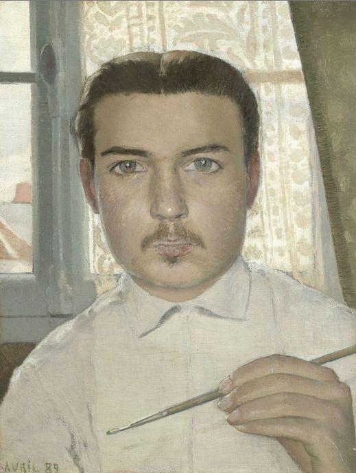 Maurice Denis, Portrait of the Artist Aged Eighteen, 1889