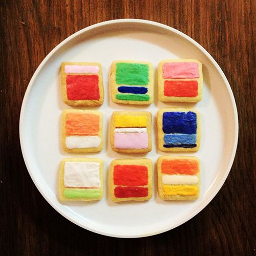 Rothko cookies