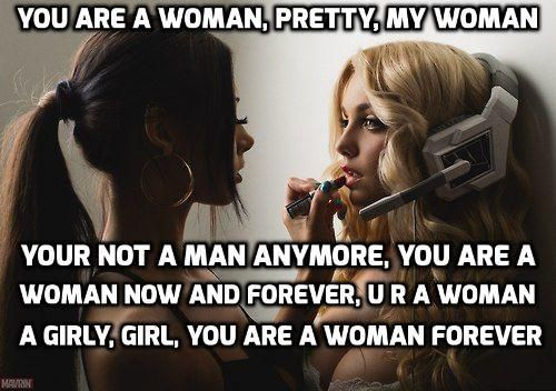 I am a woman, yes