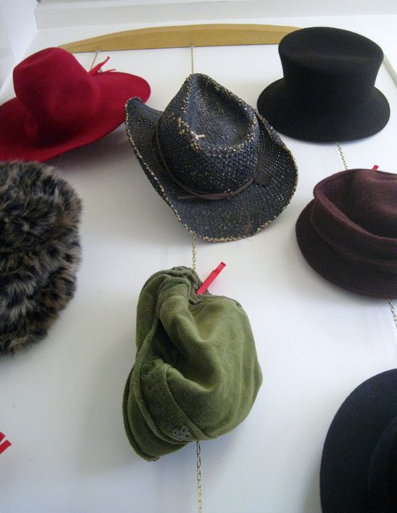 Coat Rack for Hats